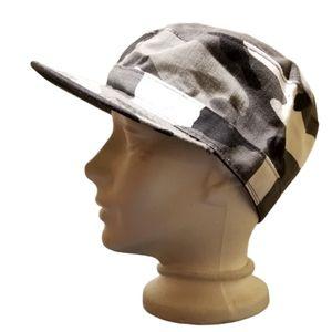 CAMO Hat Gray, Black & White